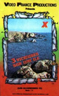 Trois vicieuses sur une île